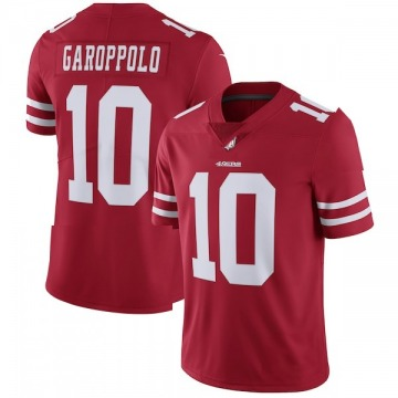 Youth San Francisco 49ers Jimmy Garoppolo Red Limited Team Color Vapor Untouchable Jersey By Nike