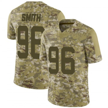 Youth San Francisco 49ers Ray Smith Camo Limited 2018 Salute to Service Jersey By Nike