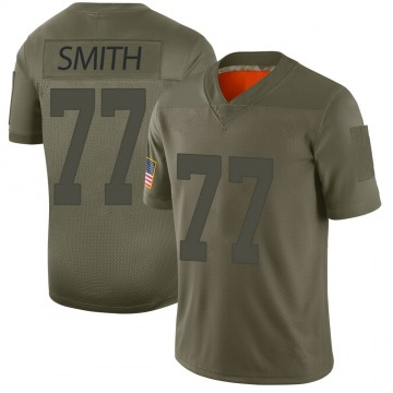 Youth San Francisco 49ers Ray Smith Camo Limited 2019 Salute to Service Jersey By Nike